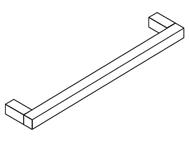 Accessoires HEWI Badetuchhalter System 100