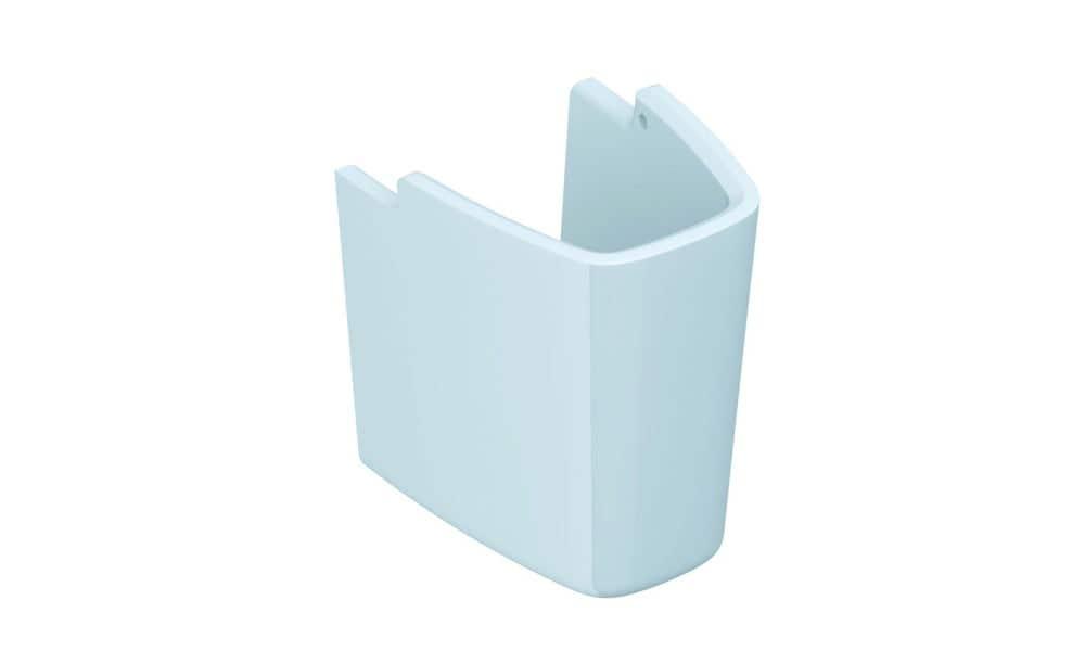Waschbecken VIGOUR Halbsäule white