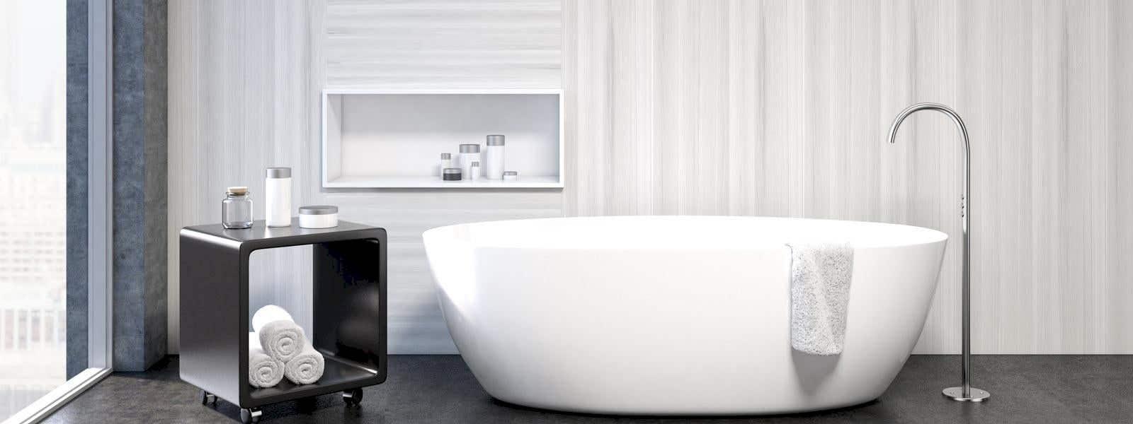 Nische im Bad