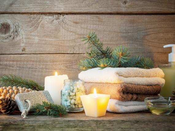 Wellness Weihnachten Auzeit