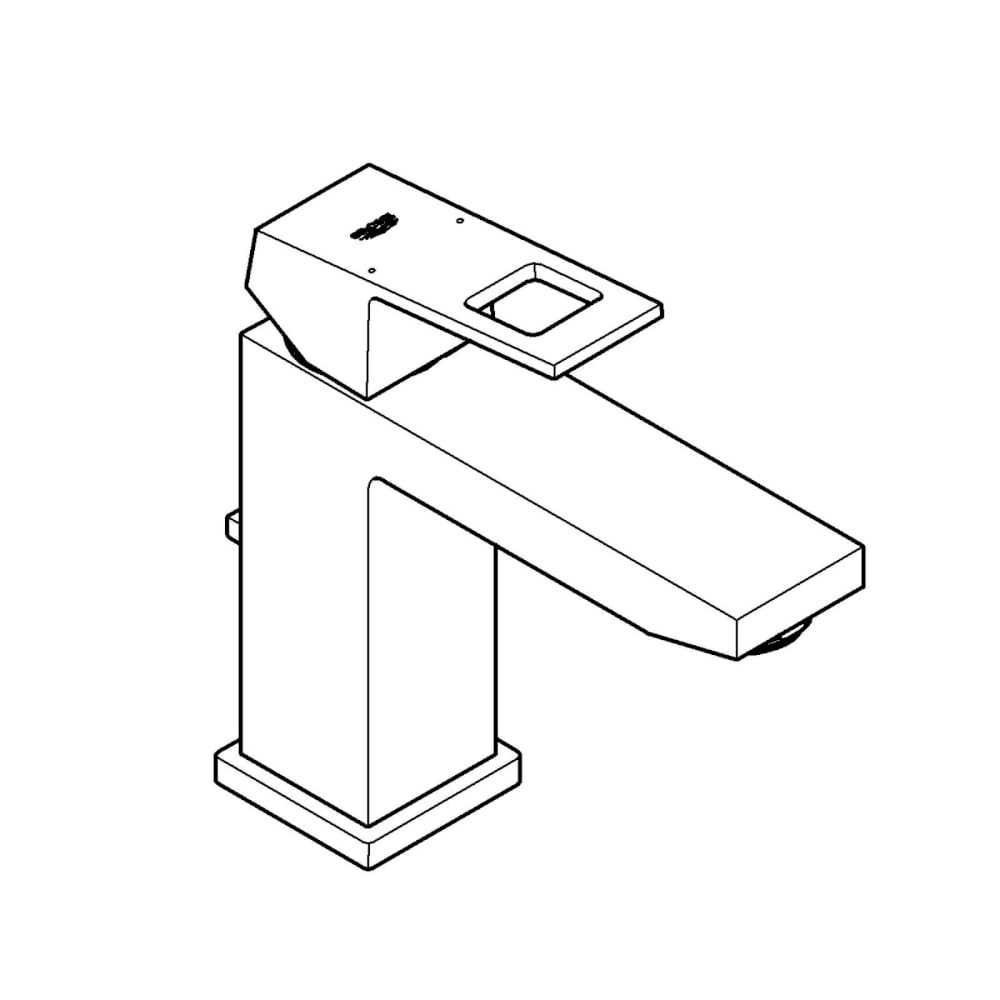 Waschbeckenarmaturen Grohe Einhand-Bade-/Waschtisch-Batterie Eurocube EcoJoy