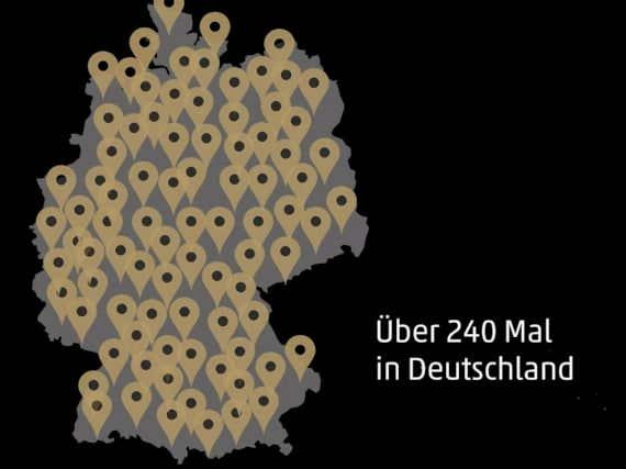 Ausstellungen Deutschlandtour