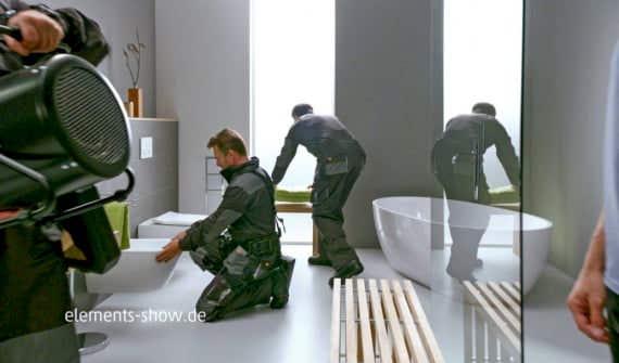 Elements TV Spot Deutschlands Fachhandwerker auf der Kinoleinwand