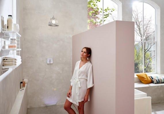 Walk-in-Dusche, ganz ohne Stufen angenehm begehbar - ELEMENTS kennt die Trends im Bad