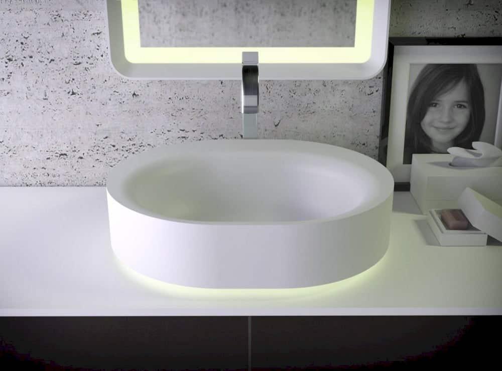 Waschbecken Knief Aufsatzwaschtisch Moon