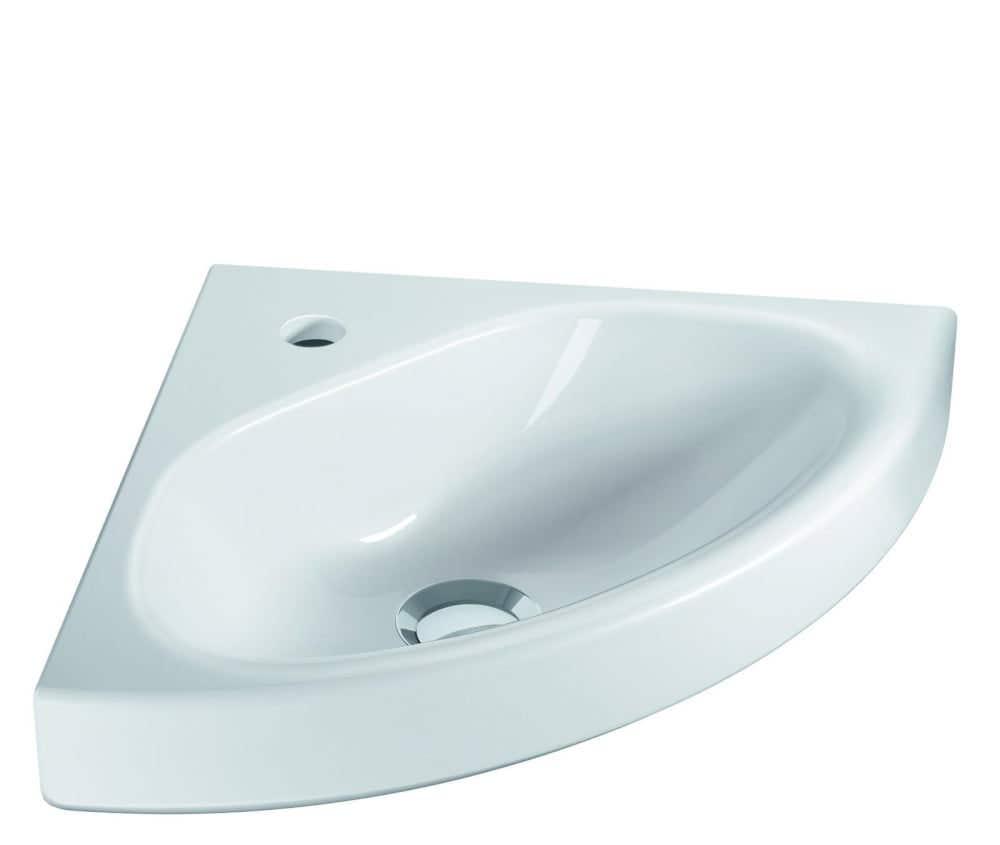 Handwaschbecken VIGOUR Eckhandwaschbecken derby