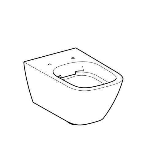 Wand-WCs GEBERIT Wand-WC Smyle