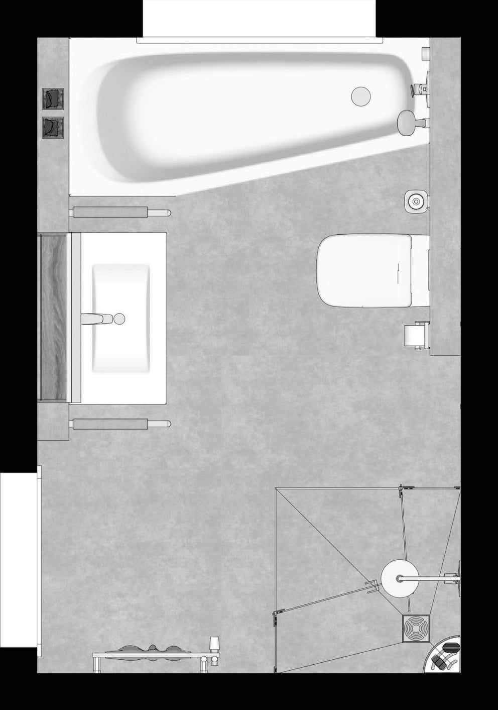 Bad Grundriss 6 Quadratmeter Das Bad Als Raumwunder Elements Show De