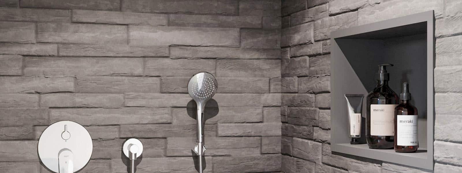 KWC Nische in Dusche