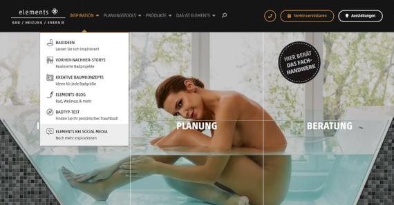 ELEMENTS-Website Header