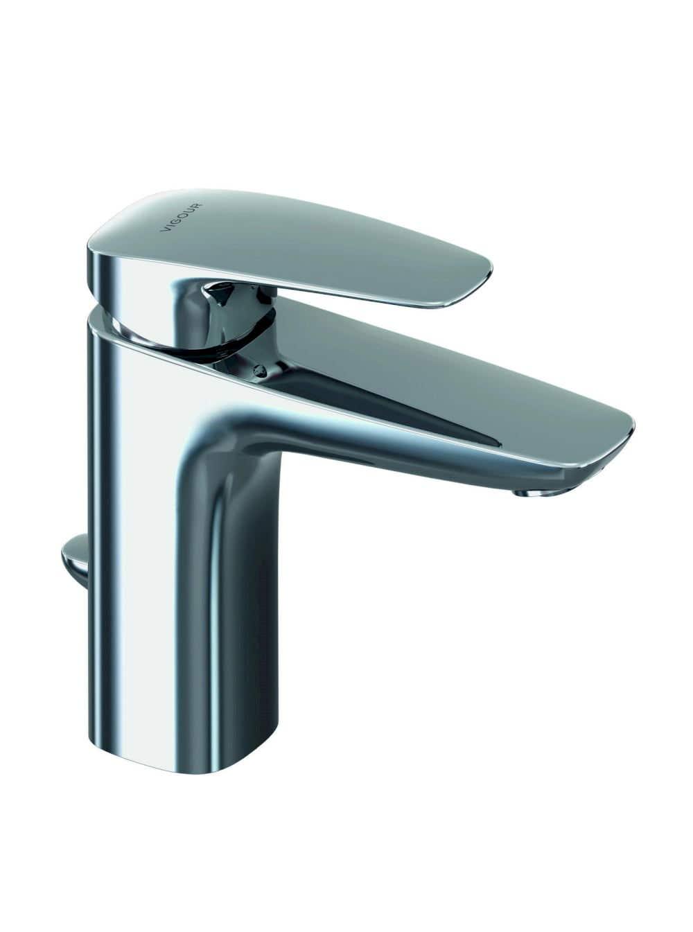 Waschbeckenarmaturen VIGOUR Einhand-Waschtischbatterie white