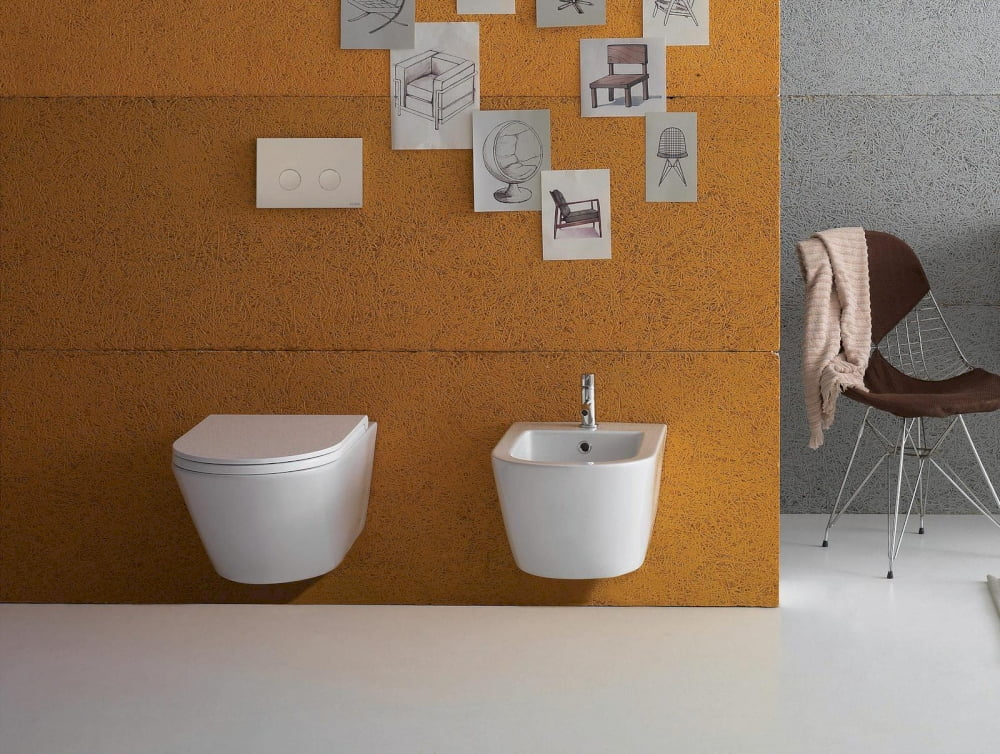 Wand-WCs Ceramica Globo Wand-WC Forty3
