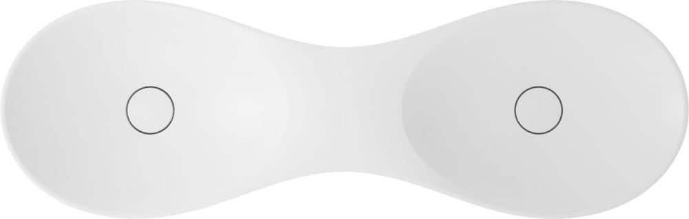 Waschbecken VIGOUR Doppel-Aufsatzschale vogue