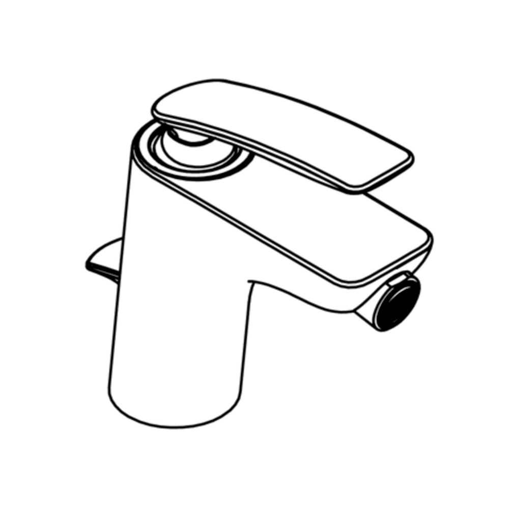Badewannenarmaturen Kludi Einhand-Bidetbatterie Balance