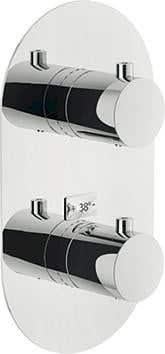 Duscharmaturen Carlo Nobili Fertigmontageset Thermostat-Brausebatterie LIVE