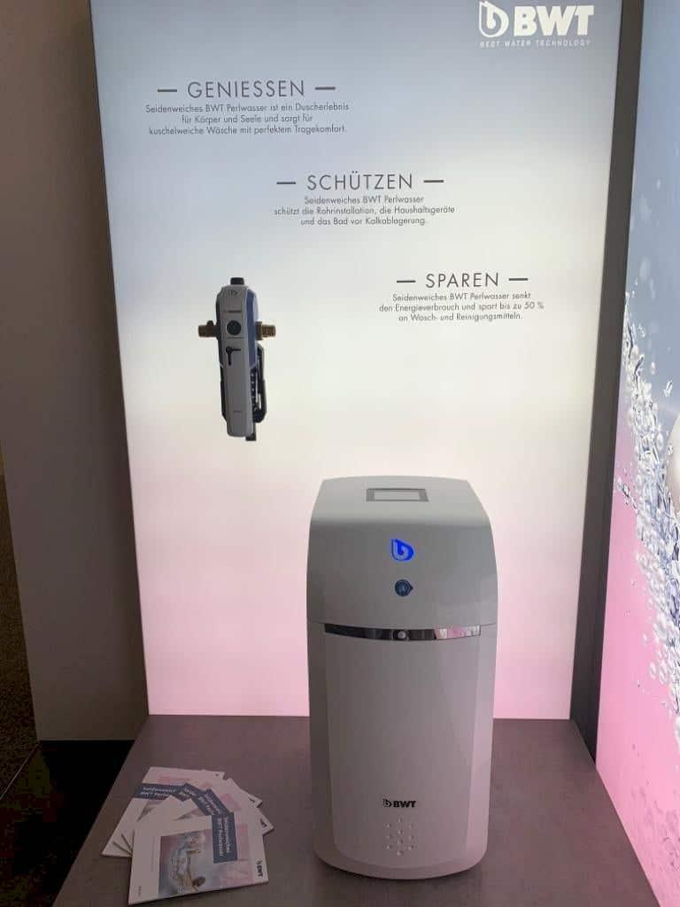 Alles rund um die Wasseraufbereitung - weiches Wasser in unserem Perlwassercenter