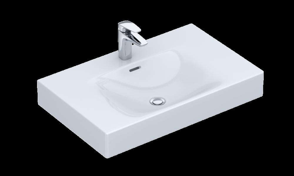 Waschbecken VIGOUR Möbelwaschtisch white