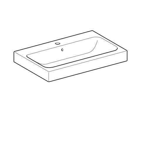 Waschbecken GEBERIT Aufsatzwaschtisch iCon