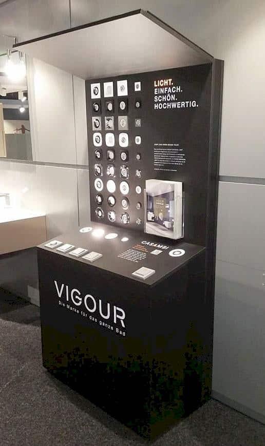 Neu bei VIGOUR - Licht für Ihr Bad!