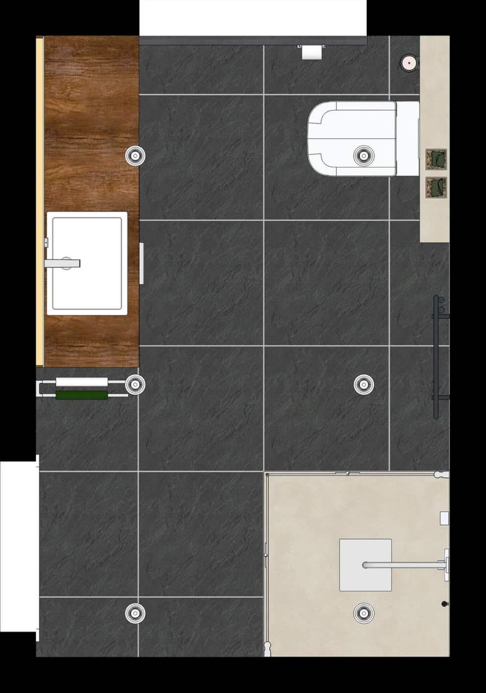 Bad-Grundriss 11 Quadratmeter – das Bad als Raumwunder  elements