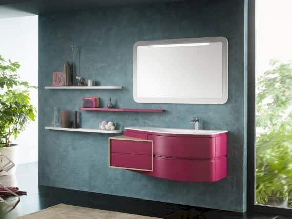 Badschrank Pink Inda