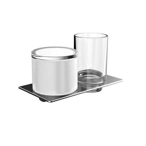 Accessoires EMCO Bad Glashalter/Seifenspender ART