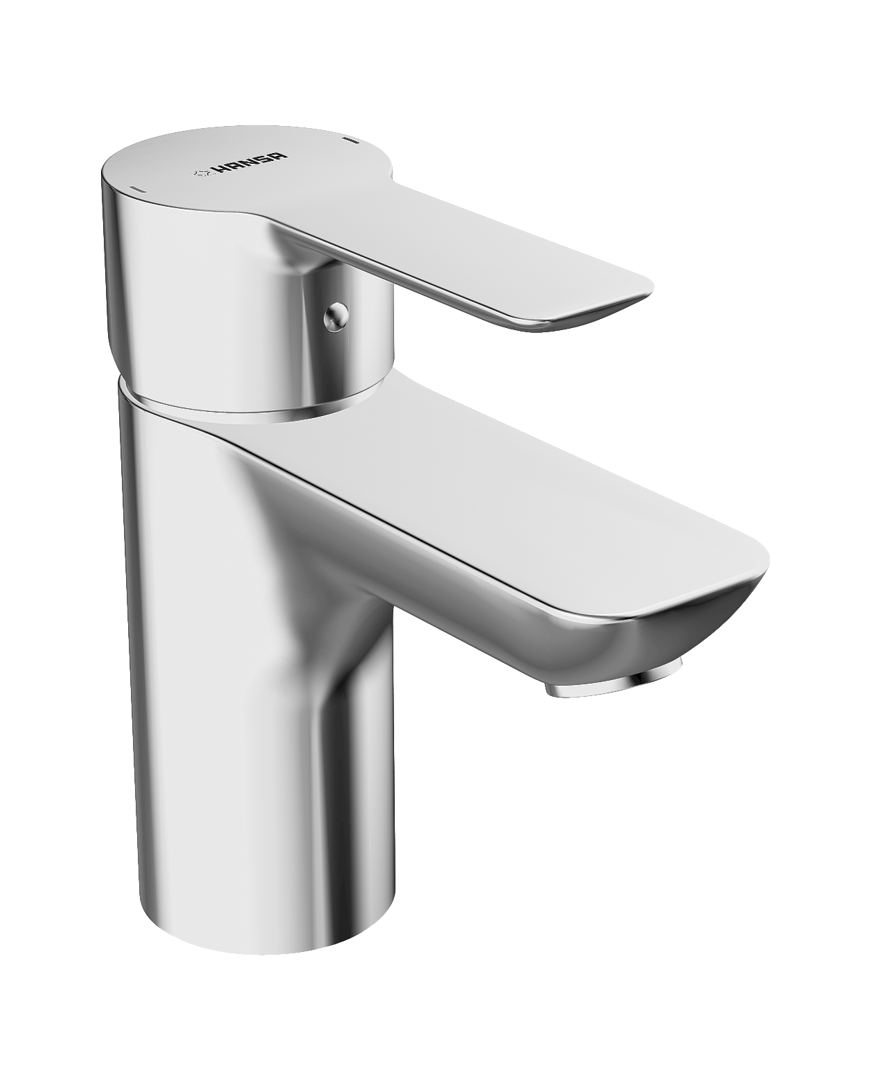 Waschbeckenarmaturen Hansa Armaturen Einhand-Waschtischbatterie Hansaligna Piccolo