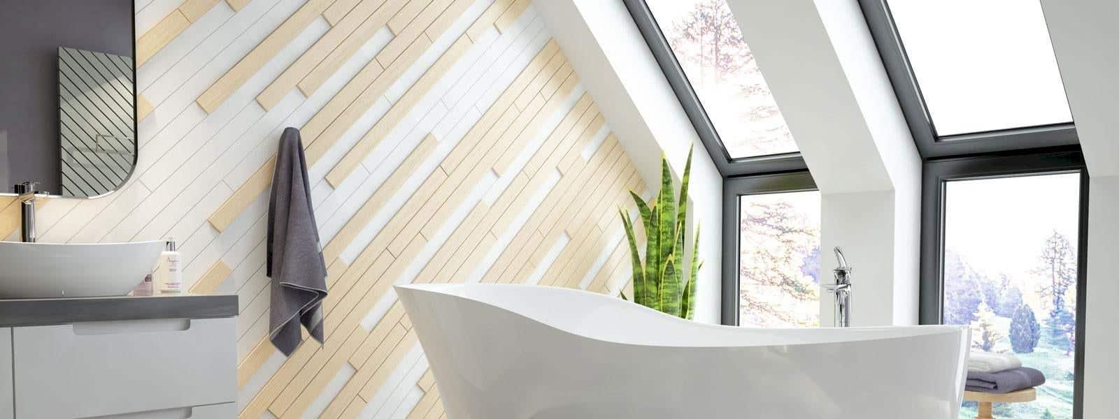 Bad mit Dachschräge