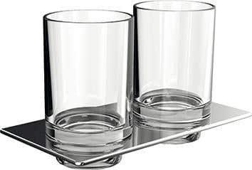 Accessoires EMCO Bad Doppelglashalter ART