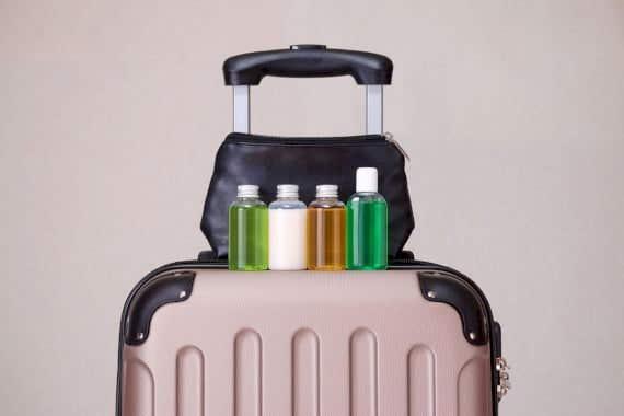 Kulturtasche packen für den Urlaub
