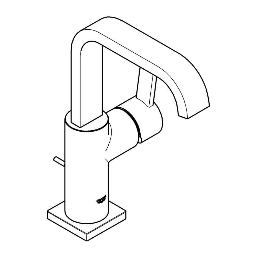 Waschbeckenarmaturen Grohe Einhand-Waschtischbatterie Allure