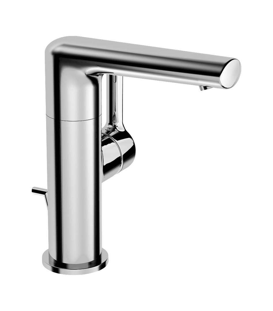 Waschbeckenarmaturen Hansa Armaturen Einhand-Einlochbatterie Hansaronda