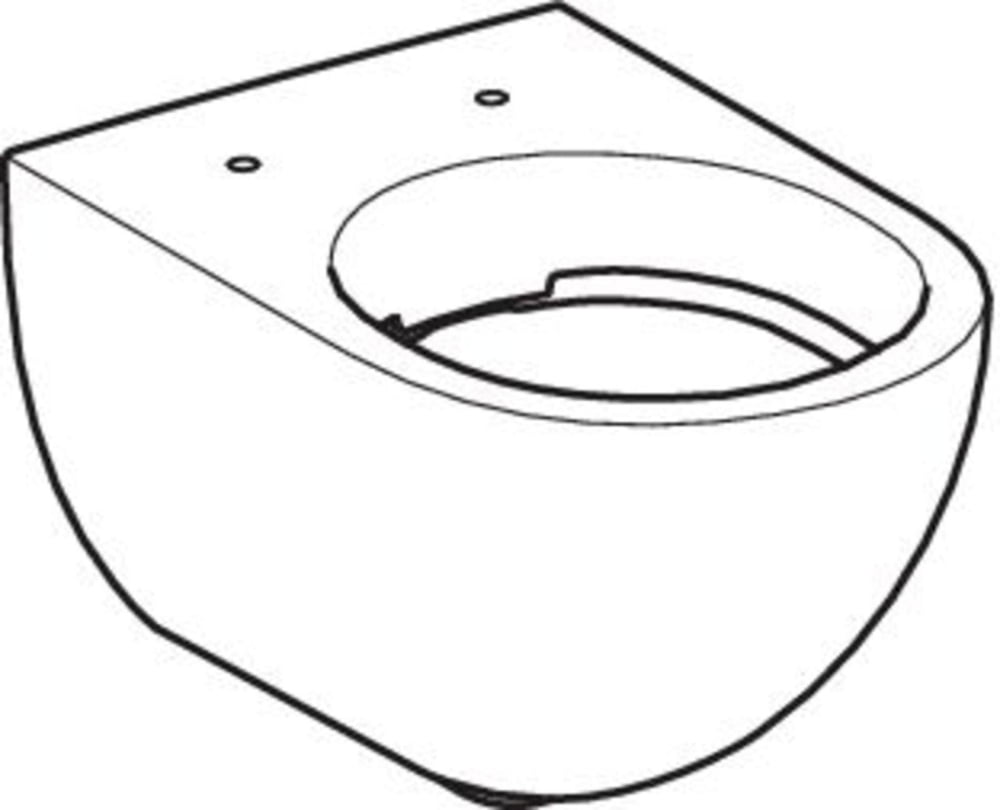 Wand-WCs GEBERIT Wand-Tiefspül-WC Acanto