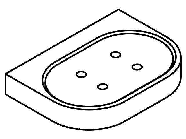 Accessoires HEWI Halter System 800