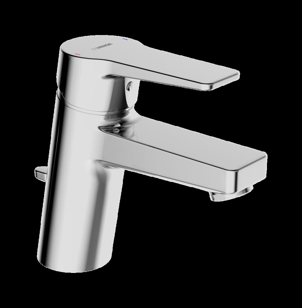 Waschbeckenarmaturen Hansa Armaturen Einhand-Spültisch-Waschtischbatterie Hansatwist