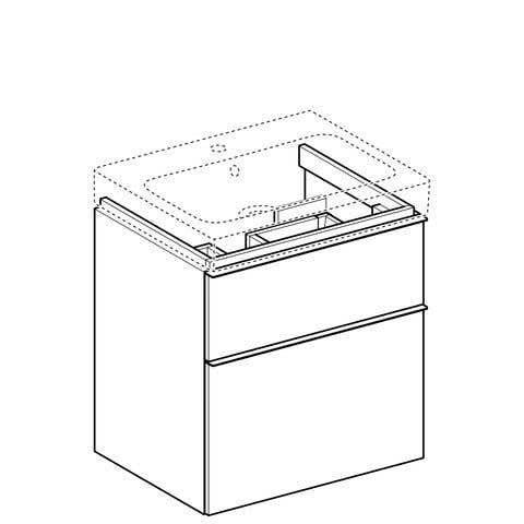 Unterschränke GEBERIT Waschtischunterschrank iCon