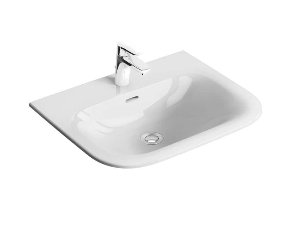Waschbecken VIGOUR Einbauwaschtisch derby